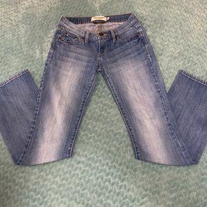 "Abercrombie ""Emma"" Bootcut Jeans - Short Inseam"